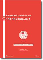 Nigerian Journal of Ophthalmology